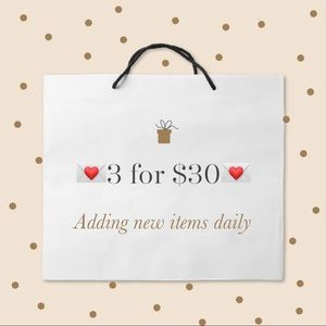 Other - 💌3 for $30💌 sale